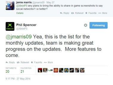 Screen-shots Tweet