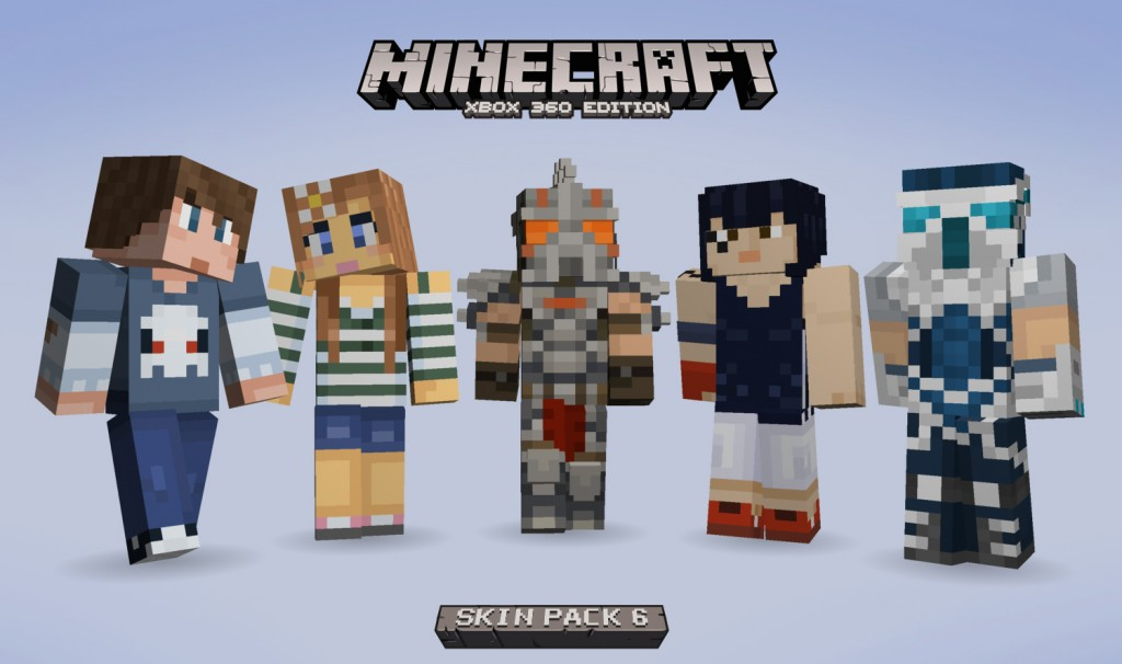 Now Available Minecraft Skin Pack 6 Gamers 4 Gaming