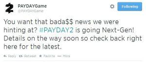 PayDay2Tweet