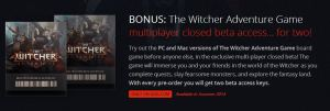 Witcher 3 Bonus