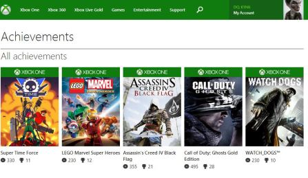 XboxOneAchievements