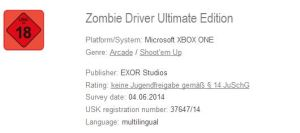ZombieDriverUltimateEdition-USK