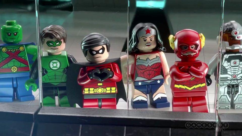 Lego Batman Characters 2014 Comic Con 2014 Lego Batman 3